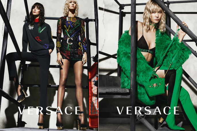 Versace, Mert Alas & Marcus Piggott, AW 15, source: Versace FW15