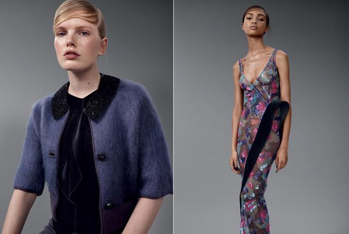 Sophy Robson, Vogue Italia, nails, makeup, Isamaya Ffrench, Daniel Sannwald
