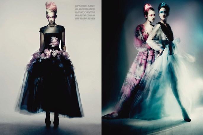 Jacob K, Petros Petrohilos, Vogue Italia, styling, makeup, Paolo Roversi