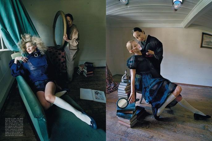 Jacob K, Kate Moss, Vogue Italia, styling, tim walker