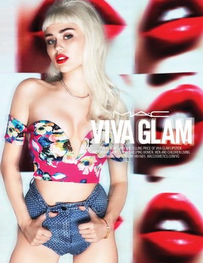 Patti Wilson, styling, source: mac viva glam, MAC Cosmetics
