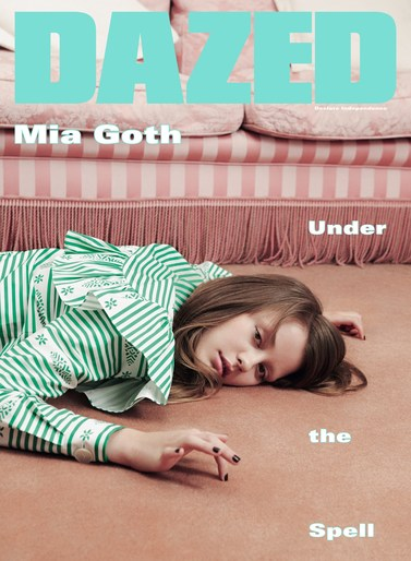 Petros Petrohilos, Dazed, Ben Toms, Mia Goth, Mike Pocock, Cyndia Harvey, 15AW, source: Dazed AW15