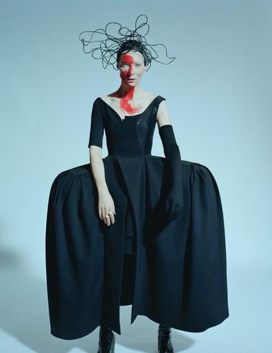 W Magazine, Jacob K, Stylist, cate blanchett, Val Garland, tim walker, makeup, source: w magazine