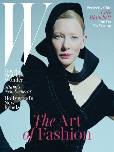 W Magazine, Jacob K, Stylist, cate blanchett, Val Garland, makeup, source: w magazine, Tim wallker