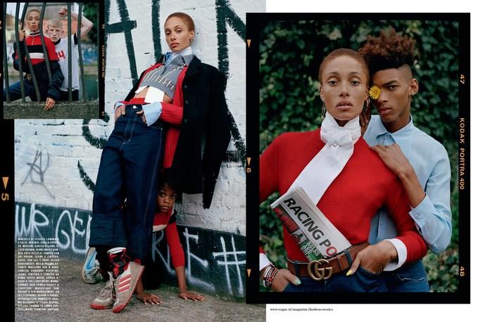 Jacob K, Vogue Italia, styling, tim walker, source: vogue italia, December 2015