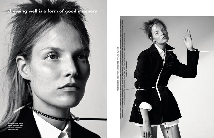i-D Magazine, Jacob K, Petros Petrohilos, styling, makeup