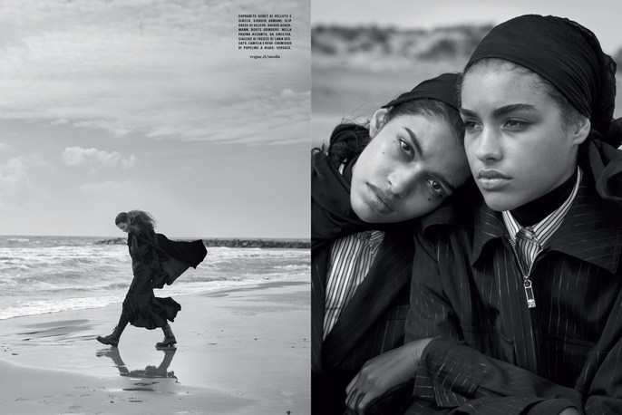 Jacob K, Vogue Italia, styling, Peter Lindbergh