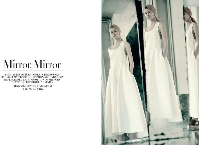 Jacob K, styling, Paolo Roversi, Dior magazine