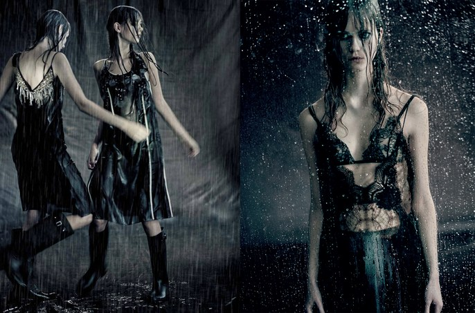 Jacob K, Vogue Italia, styling, Paolo Roversi, Julie Hoomans, peyton knight, Odette Pavlova