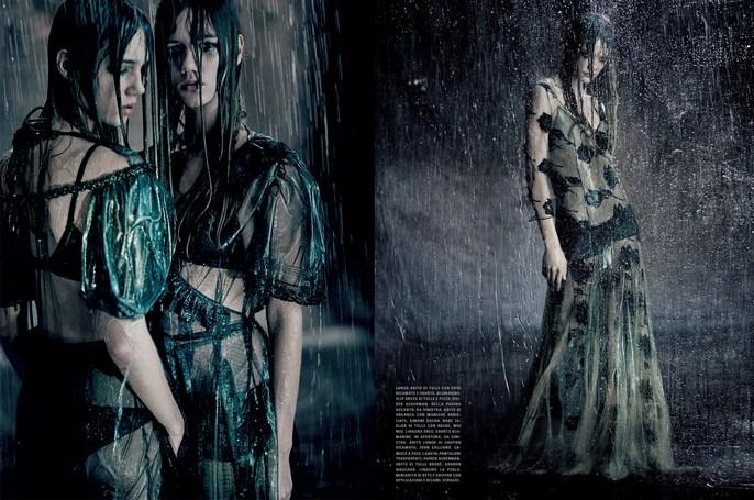 Jacob K, Vogue Italia, styling, Paolo Roversi