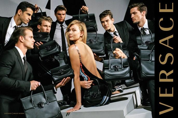 Jacob K, Versace, styling, Bruce Weber, AW16