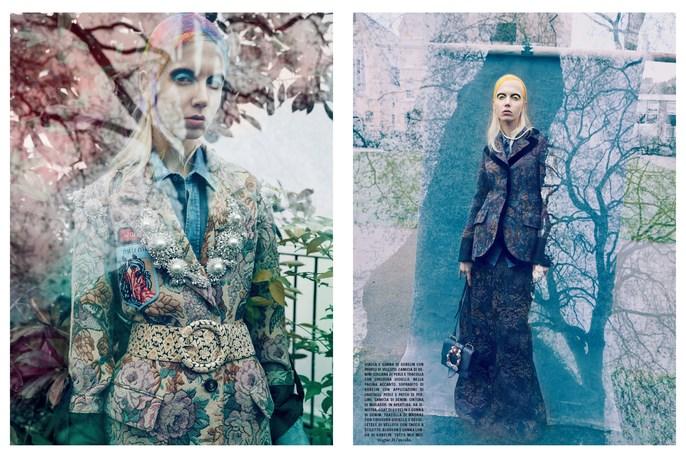 Eugene Souleiman, Marian Newman, Vogue Italia, hair, nails, Solve Sundsbo