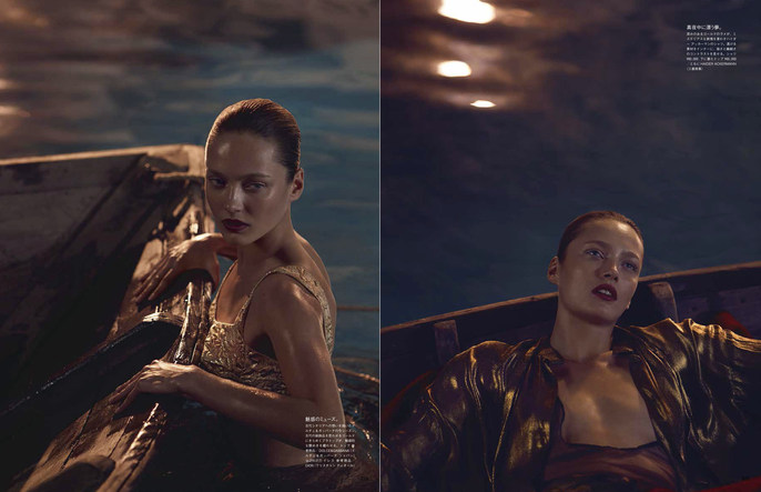 Petros Petrohilos, Vogue Japan, Emma Roach