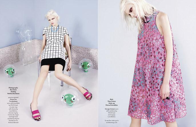 Another Magazine, Petros Petrohilos, Spring / Summer, 2014, Tina Outen, ss14, Ben Toms