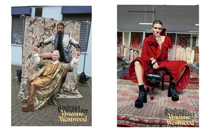 Eugene Souleiman, Vivienne Westwood, Petros Petrohilos, AW16