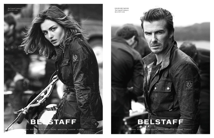 ADVERTISING, Belstaff, ad, celeb, Celebrity, david beckham, Spring / Summer, 2014, Peter Lindbergh, source: belstaff