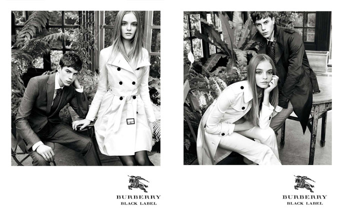 2009, Burberry Black, Photographers, Lachlan Bailey, source: burberry black label