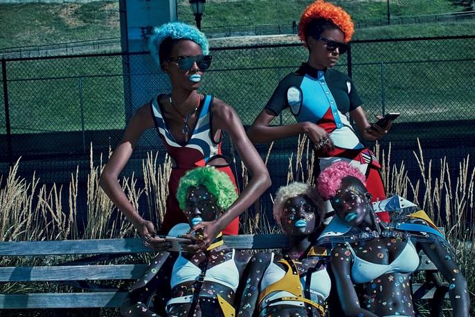 Editorial, Steven Klein, Vogue Italy, Patti Wilson, source: Vogue Italy