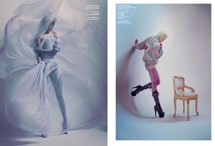 Jacob K, Laura Dominique, Marian Newman, V Magazine, Solve Sundsbo, WINTER 2016