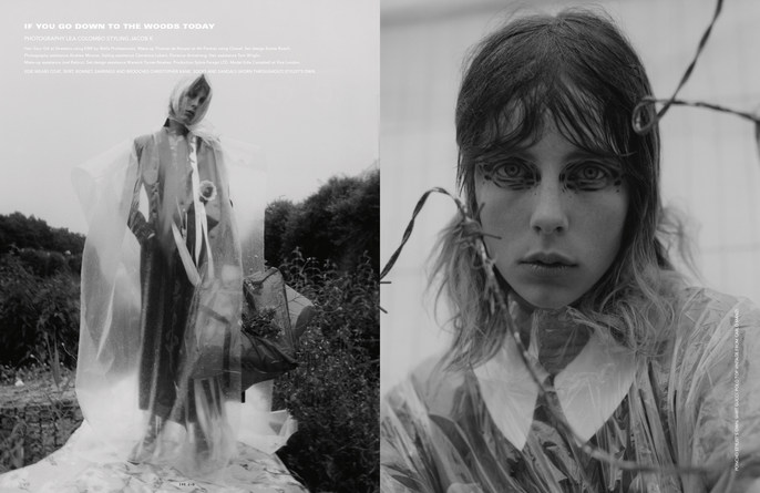 i-D Magazine, Jacob K, edie campbell, Emma Roach, lea colombo, WINTER 2016, Gary Gill