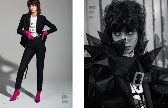 Jacob K, Vogue China, hair, styling, Mica Arganaraz, Cyndia Harvey, Collier Schorr
