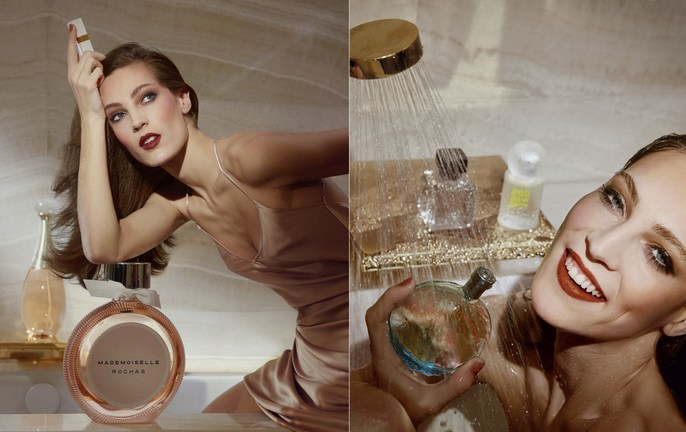 Vogue Paris, makeup, charlotte wales, Lisa Eldrdige
