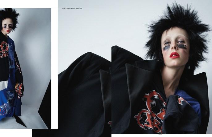 London, New York, Jacob K, edie campbell, hair, styling, tim walker, lucia pieroni, makeup, source: i-D Magazine, id magazine, Anthony Turner