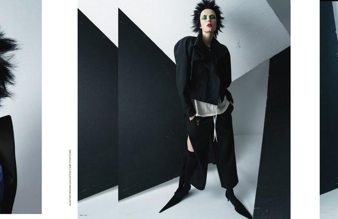 Jacob K, edie campbell, hair, styling, tim walker, lucia pieroni, makeup, id magazine, Anthony Turner