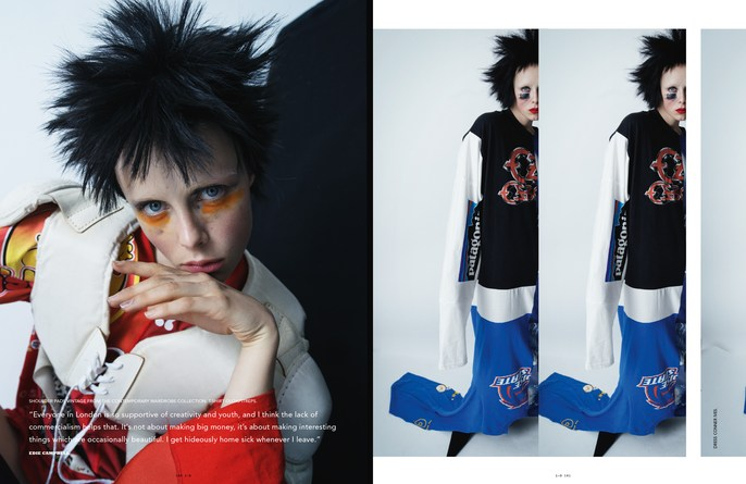 Jacob K, edie campbell, hair, styling, tim walker, lucia pieroni, makeup, id magazine, Anthony Turner