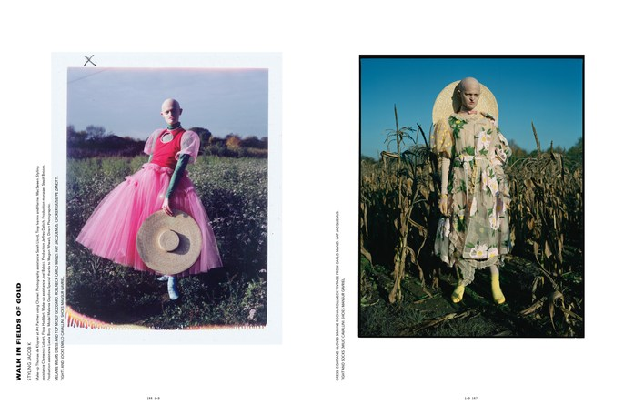 Jacob K, styling, tim walker, id magazine