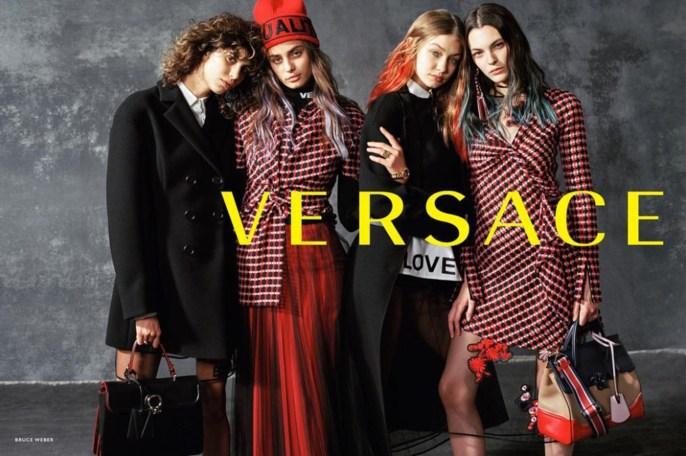 Jacob K, Versace, styling, Bruce Weber, 17AW