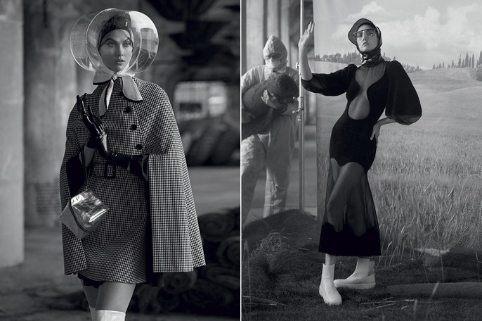Editorial, Vogue Italy, Patti Wilson, source: Vogue Italy, ethan james green, kanako takase