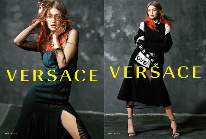Jacob K, Versace, styling, Bruce Weber, aw18
