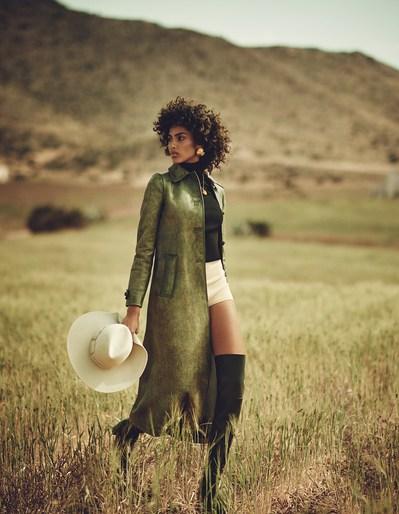 Vogue Spain, Boo George, Imaan Hammam, David Harborow, JULY 2017, Sara Fernandez Castro