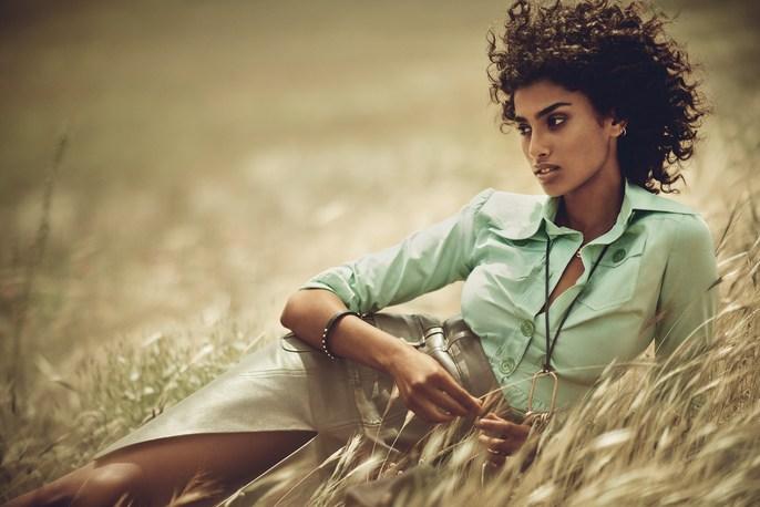 Vogue Spain, Boo George, Imaan Hammam, source: Vogue spain, David Harborow, JULY 2017, Sara Fernandez Castro