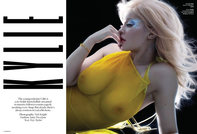 V Magazine, Nick Knight, Adam Slee, martin cullen, lisa eldridge