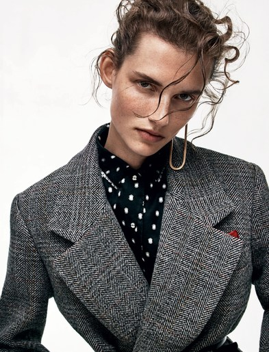 Petros Petrohilos, Vogue Paris, makeup, Christian MacDonald