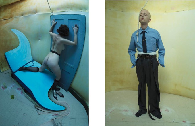 Jacob K, hair, Lucy Bridge, styling, tim walker, makeup, Cyndia Harvey, Citizens of Humanity, 17AW, humanity