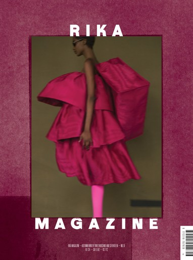 Editorial, Patti Wilson, sarah moon, source: rika magazine, Rika Magazine, Magazine Cover