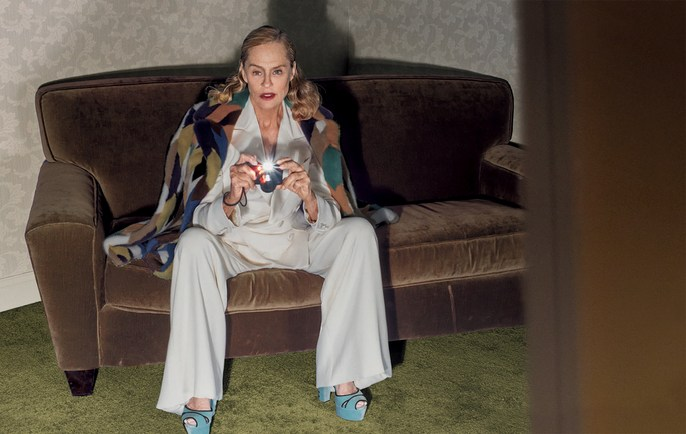 Editorial, Steven Klein, Patti Wilson, Vogue Italia, source: vogue italia, lauren hutton, Magazine Cover