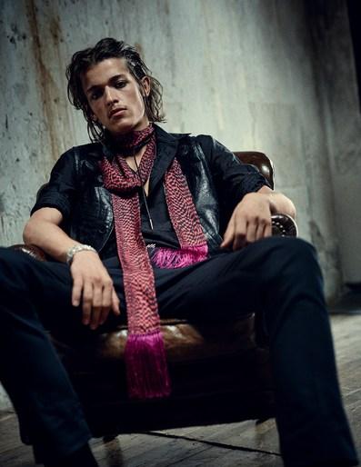 Alain Pichon, Boo George, source: Vogue germany, vogue germany, heather kemesky, November 2017