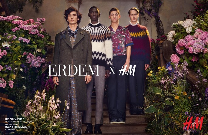 ADVERTISING, Petros Petrohilos, Michal Pudelka, erdem x h&m