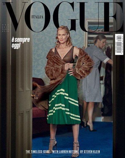 Editorial, Steven Klein, Patti Wilson, Vogue Italia, source: vogue italia