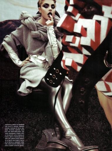 Steven Klein, Patti Wilson, Vogue Italia, source: vogue italia