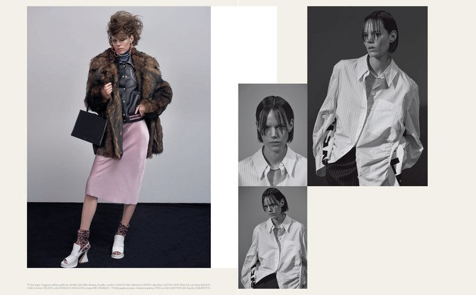 Jacob K, Freja Beha Erichsen, Models, Vogue Italia, styling, Collier Schorr