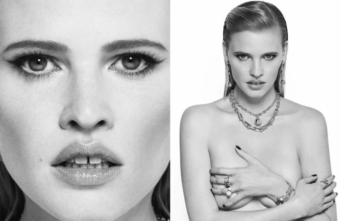 Lara Stone, W Korea, lisa eldridge, matt easton, December 2017