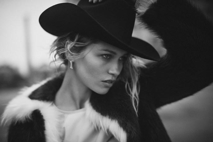 London, New York, Petros Petrohilos, Vogue Spain, Adam Slee, Boo George, Hana Jirickova, source: Vogue spain, 2018, january 2018