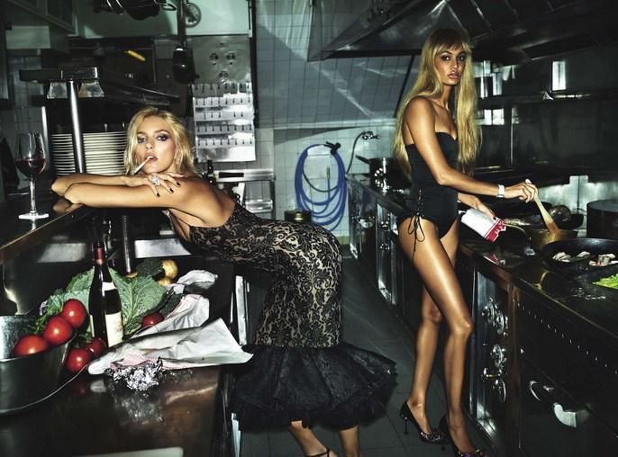 Editorial, Patti Wilson, Vogue Italia, source: vogue italia, Magazine Cover, Mert and Marcus