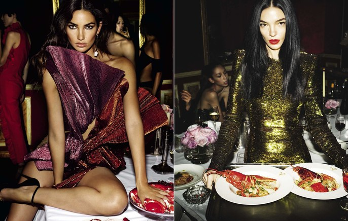Vogue Italia, Editorial, Patti Wilson, source: vogue italia, Magazine Cover, Mert and Marcus