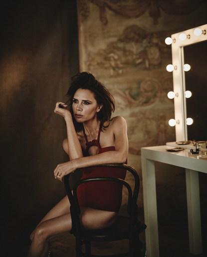 Victoria Beckham, Petros Petrohilos, Vogue Spain, Boo George, 2018, pat boguslawski, February 2018